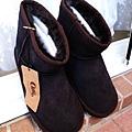OLLIE短筒雪靴 /巧克力色