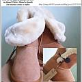 再一發~OLLIE 大圓釦雪靴(焦糖色)