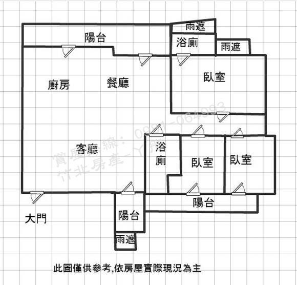 格局圖-大硯二宅10樓-第二種版本.JPG