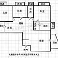 【竹北台科大】成功國中。鎏金高樓層質感3房~格局圖