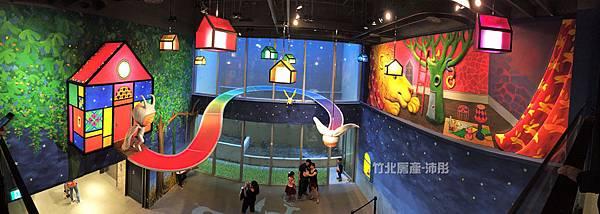 新竹林森晶品城開幕-幾米繪