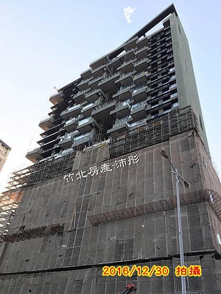 竹北【高鐵特區】半畝塘-若山2期【若合山】工程進度~(2017更新)
