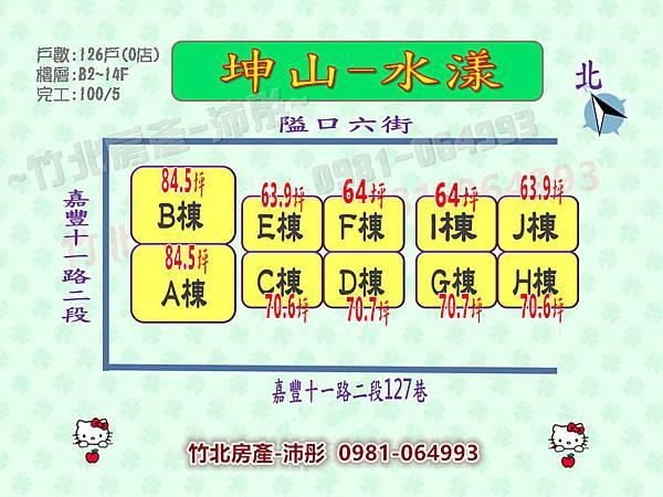 坤山-水漾 社區介紹&平面圖