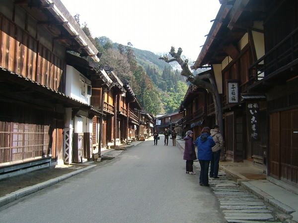 木曾古道上的妻籠宿(TSUMAGOJUKU)古稱驛站、旅店