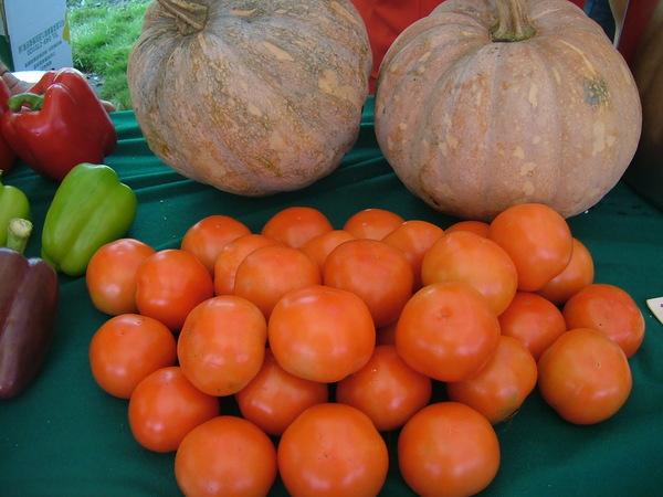 蕃茄、南瓜