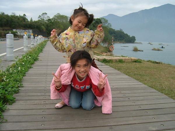 2007春節前日月潭畔