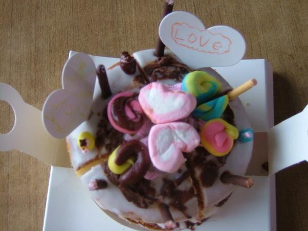 08.05.02 佑佑母親節蛋糕裝飾