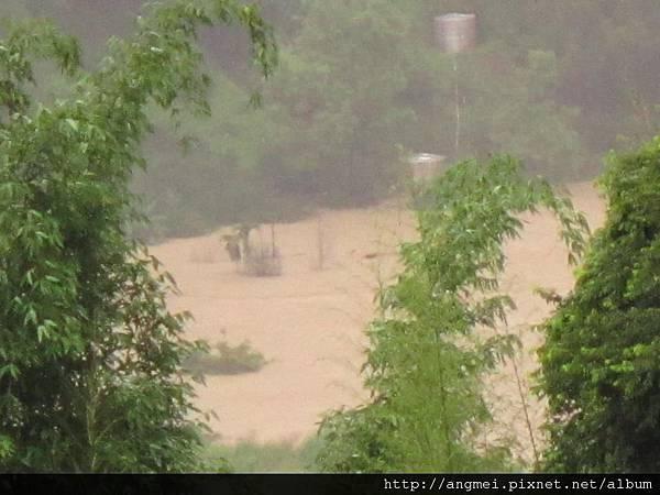2012.06.12~610水災後的堰塞湖