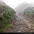 2012.06.12~610水災後土石流再度襲擊的頭坑溪大峽谷