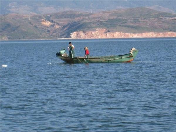 洱海水匯入濫滄江