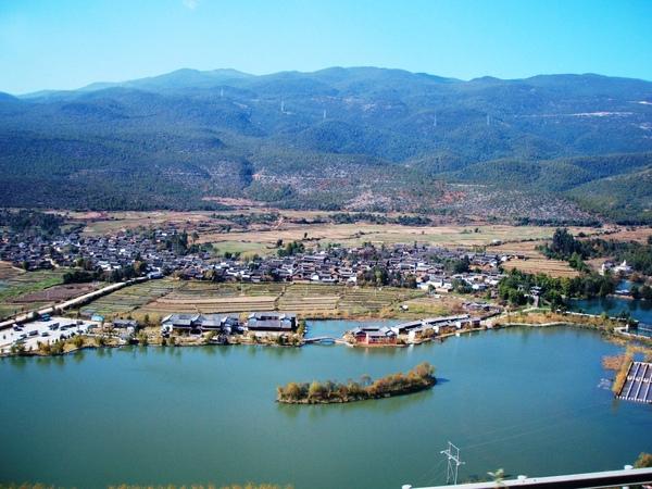 08.11.24接近麗江的谷地村落