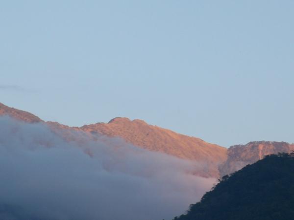 08.12.09郡大山的黃昏