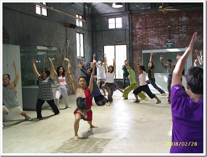 非洲舞蹈課01