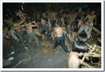 猴祭前晚儀式10