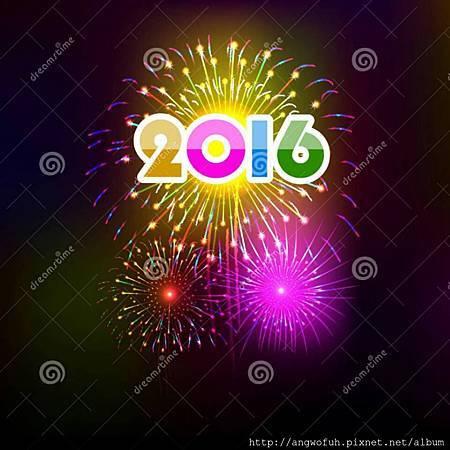 Happy new 2016 to U。
