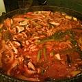 牛肉炒章魚
