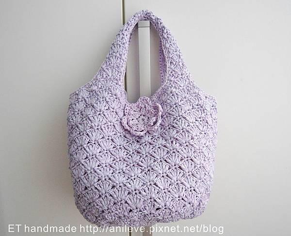 紙線編織紫樣包