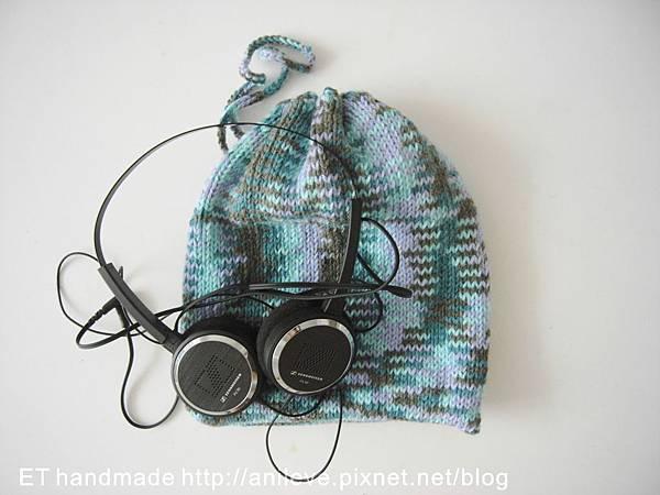 耳機袋DIY