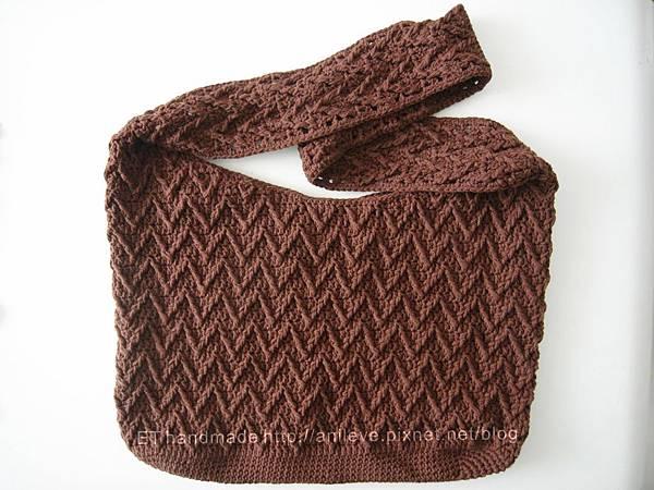 V紋側背包