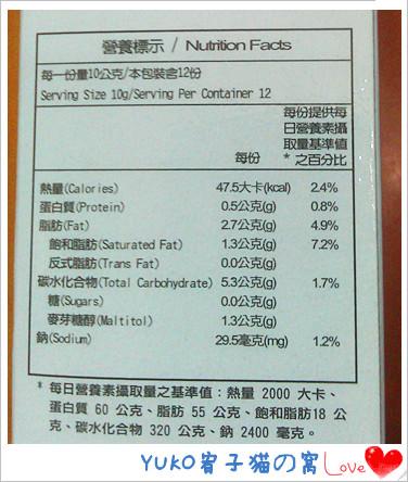 食物熱量表