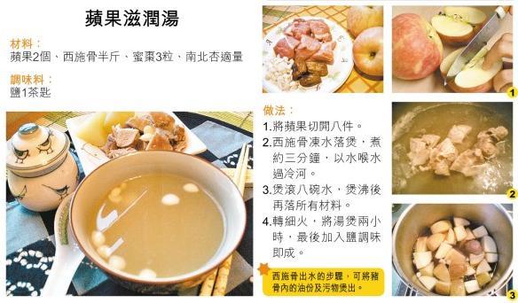 蘋果滋潤湯