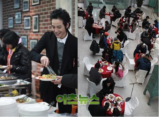 《是美男啊》張根奭,對中國FANS的100人份自助餐活動感動!