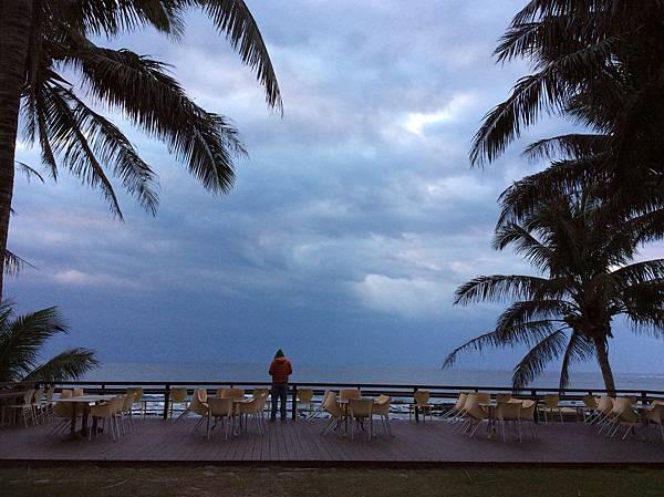 白石牛沙灘海景民宿的大海景觀