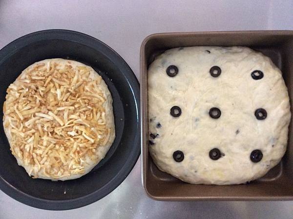 發酵中的麵糰