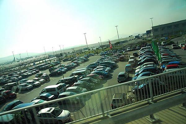 雅典機場外