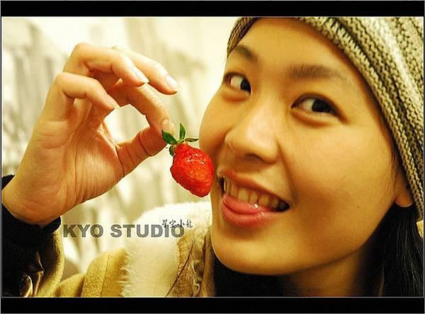 就是愛吃草莓