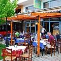 街頭的露天餐館