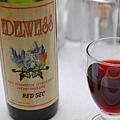 餐桌上的紅酒