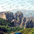 Russanou修道院─Meteora最優美的修道院