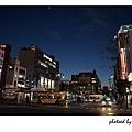 夜晚的龜戶街道