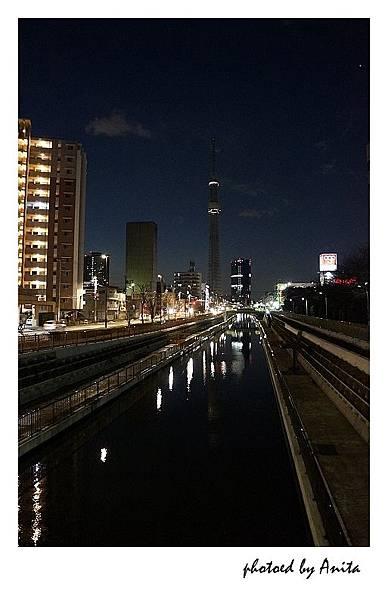 福神橋上看天空樹
