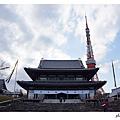 增上寺與鐵塔