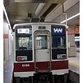 等等要搭的車,選擇東武鐵道前往日光