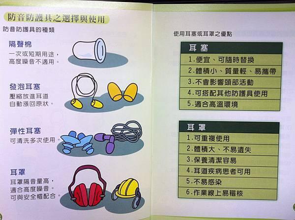 <噪音危害-3>噪音防護具之選擇與使用