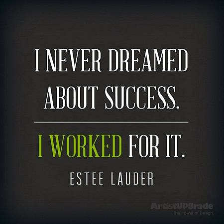 I never dreamed about success.jpg