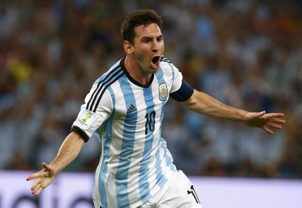巴西世界盃足球賽2014--梅西