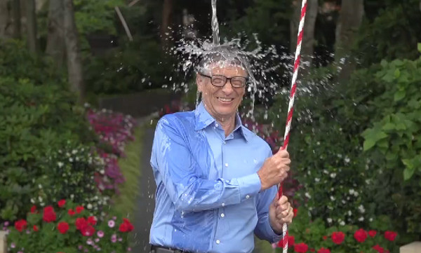 Bill Gates - Ice Bucket Challenge