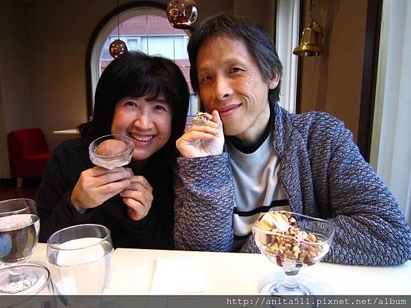 12月大冷天就是要吃冰淇淋!