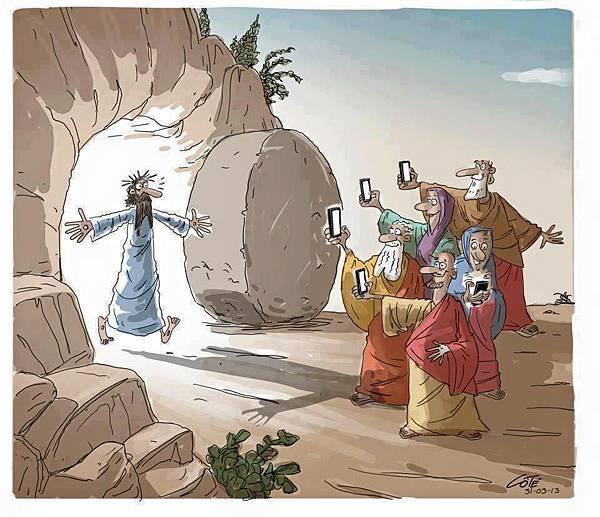 主耶穌復活了!
