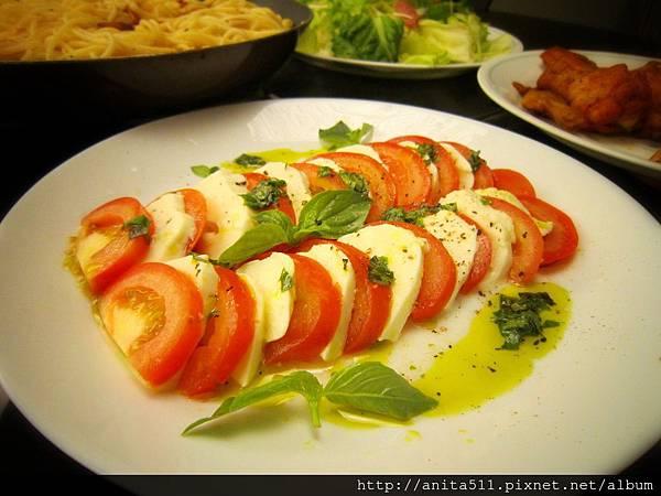 番茄莫札瑞拉起司冷盤