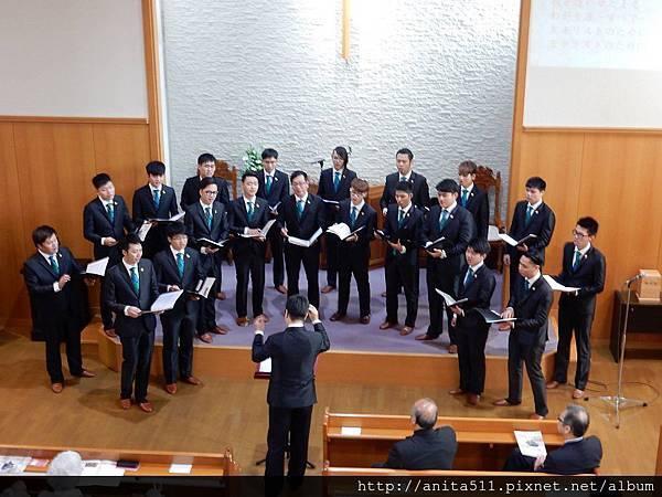 八角塔男聲合唱團日本行