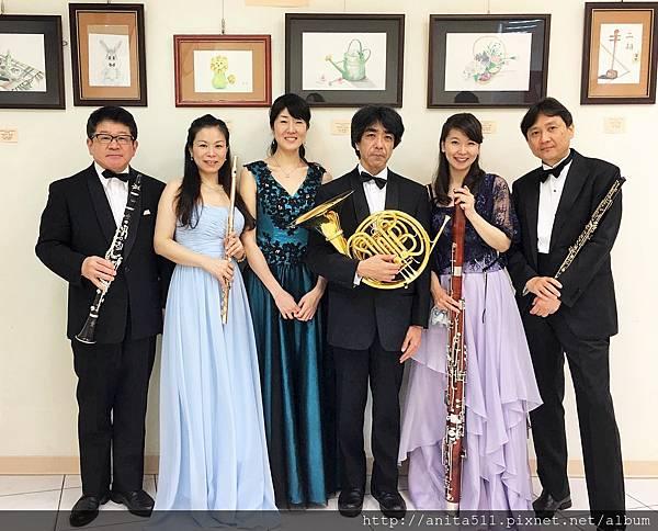 平安木管五重奏 Ensemble La Paix