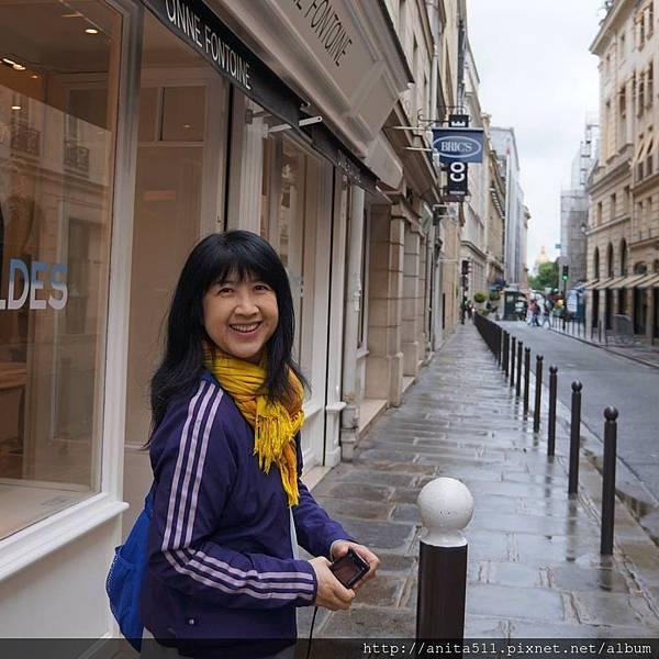 在巴黎街頭