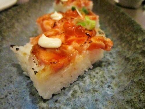 鮭魚押壽司