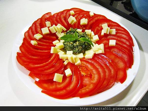 青醬番茄冷盤