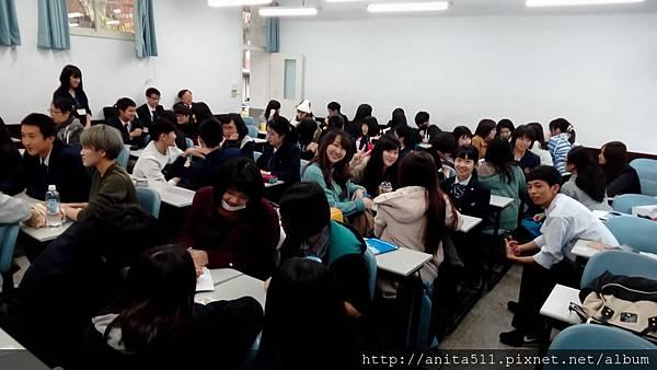 富山縣高中生來東吳大學 2017